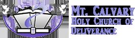 Mt. Calvary HCOD Logo